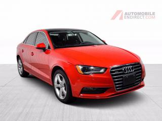 Used 2016 Audi A3 QUATTRO CUIR TOIT MAGS for sale in St-Hubert, QC