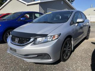 Used 2014 Honda Civic EX 4 portes CVT for sale in Victoriaville, QC