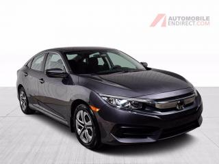 Used 2018 Honda Civic lx air climatise camera de recul for sale in St-Hubert, QC