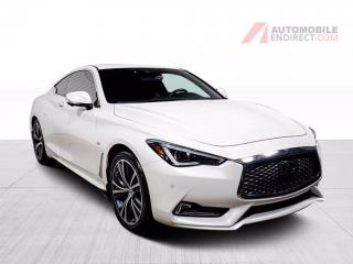 Used 2017 Infiniti Q60 2.0T AWD CUIR TOIT OUVRANT NAVIGATION MAGS for sale in St-Hubert, QC