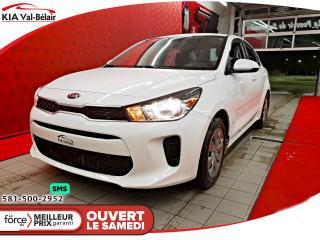 Used 2018 Kia Rio *LX+*BLUEOOTH*SIÈGE ET VOLANT CHAUFF* for sale in Québec, QC