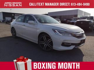 Used 2017 Honda Accord Sedan Touring for sale in Kingston, ON