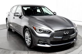 Used 2016 Infiniti Q50 AWD 2.0T CUIR TOIT GPS MAGS for sale in Île-Perrot, QC