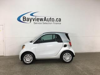 Used 2016 Smart fortwo Pure - AUTO! NAV! PWR GROUP! ONLY 36,000KMS! for sale in Belleville, ON