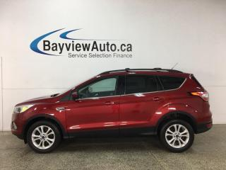 Used 2018 Ford Escape - 4WD! 45,000KMS! PWR SEAT! ALLOYS! HTD SEATS! for sale in Belleville, ON