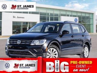 Used 2020 Volkswagen Tiguan Trendline, One Owner, Apple CarPlay, Heated Seats for sale in Winnipeg, MB
