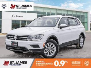 Used 2020 Volkswagen Tiguan Trendline, Clean Carfax, Apple CarPlay, Heated Seats for sale in Winnipeg, MB