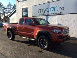 Used 2017 Toyota Tacoma TRD Off Road TRD OFFROAD, RARE COLOUR, RUNNING BOARDS!! for sale in Richmond, ON