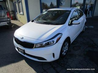 Used 2017 Kia Forte FUEL EFFICIENT EX EDITION 5 PASSENGER 2.0L - DOHC.. DRIVE-MODE-SELECT-PACKAGE.. CD/AUX/USB INPUT.. KEYLESS ENTRY.. BLUETOOTH SYSTEM.. for sale in Bradford, ON