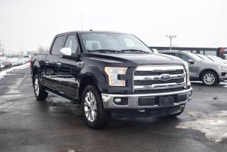 Used 2016 Ford F-150 LARIAT ECOBOOST CREW 4X4 A/C MAGS NAV for sale in St-Hubert, QC