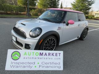 Used 2013 MINI Cooper S S, JOHN COOPER WORKS, AUTO, ROOF, INSP, WARR, FINANCE! for sale in Surrey, BC