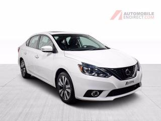 Used 2017 Nissan Sentra sl cuir toit gps mags for sale in St-Hubert, QC