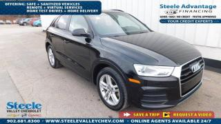 Used 2017 Audi Q3 Komfort quattro - LEATHER - SUNROOF for sale in Kentville, NS