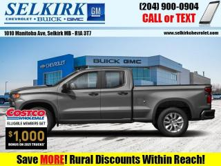 New 2021 Chevrolet Silverado 1500 Custom  - Climate Control for sale in Selkirk, MB