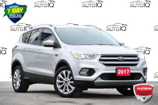 Used 2017 Ford Escape Titanium TITANIUM | 4WD | 2.0L ECOBOOST ENGINE | TWIN PANEL MOONROOF for sale in Kitchener, ON