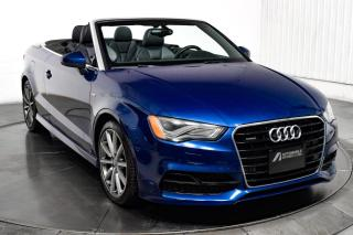 Used 2015 Audi A3 cabriolet technik quattro gps mags for sale in Île-Perrot, QC