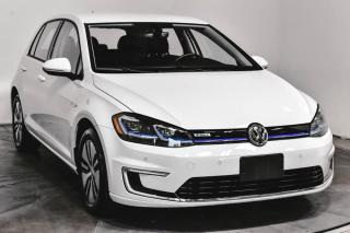 Used 2017 Volkswagen Golf e-Golf E-GOLF COMFORTLINE CUIR NAVIGATION for sale in Île-Perrot, QC