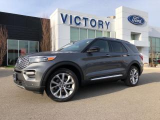 New 2021 Ford Explorer Platinum for sale in Chatham, ON