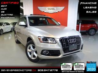Used 2017 Audi Q5 | ACCIDENT FREE | QUATTRO | CERTIFIED | FINANCE @ 4.65% for sale in Oakville, ON