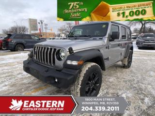 New 2021 Jeep Wrangler Sport Altitude | Removable Hard Top | Remote Start | for sale in Winnipeg, MB
