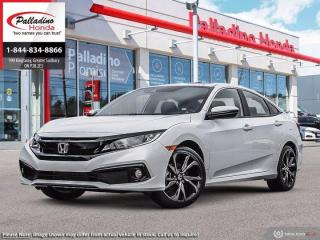 New 2021 Honda Civic Sedan Sport for sale in Sudbury, ON