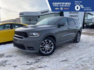 Used 2020 Dodge Durango R/T 4WD | Front & Rear Heated Seats | Navigation for sale in Winnipeg, MB