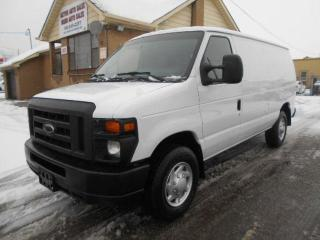 Used 2013 Ford Econoline CARGO 5.4L V8 Divider Shelving Certified 200Km for sale in Rexdale, ON