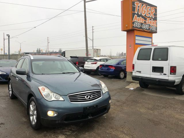 2009 Infiniti EX35 **ONLY 53KMS**LEATHER**LOADED**AWD**CERT