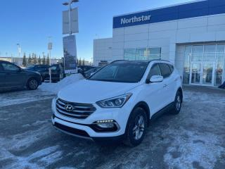 Used 2017 Hyundai Santa Fe Sport SE AWD/LEATHER/PANOROOF/HEATEDSEATSANDSTEERING for sale in Edmonton, AB
