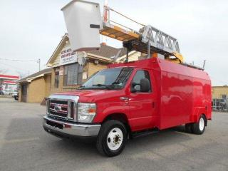 Used 2010 Ford Econoline Bucket Truck E450 Dually RH38D Insulated Aerial for sale in Rexdale, ON