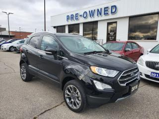 Used 2018 Ford EcoSport Titanium for sale in Brantford, ON