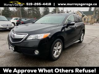 Used 2015 Acura RDX Tech Pkg for sale in Guelph, ON