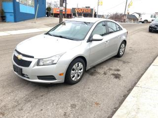 Used 2012 Chevrolet Cruze LT Turbo w/1SA/AUTO/NOACCIDENT/CERTIFIED/3MONTHWAR for sale in Toronto, ON