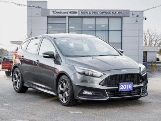 Used 2016 Ford Focus ST HEATED LEATHER | BACKUP CAM for sale in Winnipeg, MB