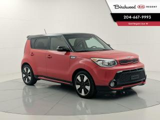 Used 2016 Kia Soul Urban Inferno Red/Black | Accident Free | Leather | Heated Steering | Heated Seats | for sale in Winnipeg, MB