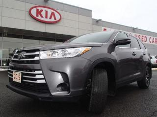 Used 2019 Toyota Highlander Highlander LE AWD for sale in Nepean, ON
