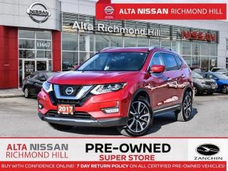 Used 2017 Nissan Rogue SL Plat   Leather   360   Pano   Navi   Remt Start for sale in Richmond Hill, ON