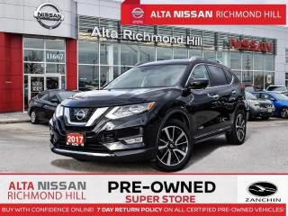 Used 2017 Nissan Rogue SL Plat. Reserve   360 CAM   Leather   Pano   Navi for sale in Richmond Hill, ON