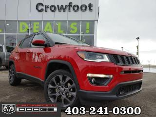 Used 2020 Jeep Compass HIGH ALTITUDE WITH LEATHER 4X4 for sale in Calgary, AB