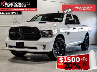 New 2021 RAM 1500 Classic Night Edition Express | Heated Seats | Heated Stee for sale in Kingston, ON