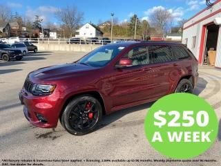 New 2021 Jeep Grand Cherokee SRT |  V8 | Leather | DVD | Tow | for sale in Mitchell, ON