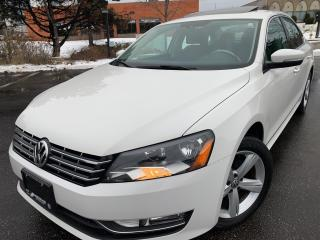 Used 2013 Volkswagen Passat TDI  LEATHER SUNROOF 8 TO CHOOSE for sale in Concord, ON