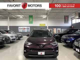 Used 2017 Toyota RAV4 Limited AWD NAV SUNROOF LEATHER SAFETYTECH PURPLE  for sale in North York, ON
