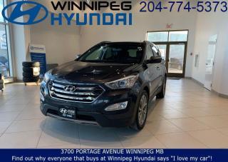 Used 2016 Hyundai Santa Fe LIMITED for sale in Winnipeg, MB