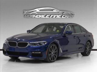 Used 2017 BMW 5 Series 540i xDrive M Sport, Intelligent Safety, HUD, Loaded for sale in Concord, ON