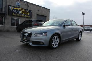 Used 2009 Audi A4 Prestige/ Quattro / NAVI / Back Camera / Leather/ Sunroof for sale in Newmarket, ON