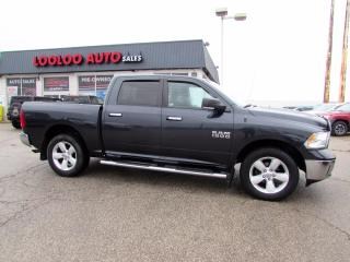 Used 2014 RAM 1500 SLT Crew Cab 4WD V6 3.6L Camera Bluetooth Certified for sale in Milton, ON