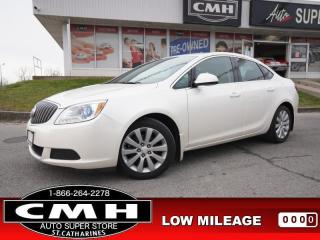 Used 2016 Buick Verano Base  LEATH/CLOTH BT S/W-AUDIO 17-AL for sale in St. Catharines, ON