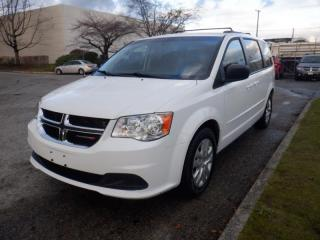 Used 2016 Dodge Grand Caravan SXT 7 Passenger Van with Quad Seating for sale in Burnaby, BC
