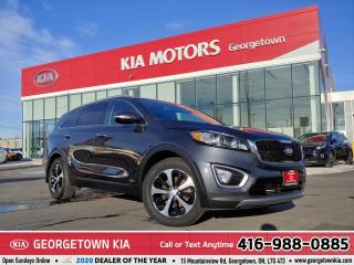 Used 2016 Kia Sorento EX 7-Seater | 1 OWNER | CLEAN CARFAX | PANO ROOF | for sale in Georgetown, ON